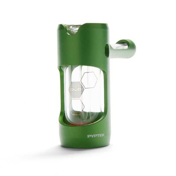 PYPTEK Prometheus green with showerhead perc